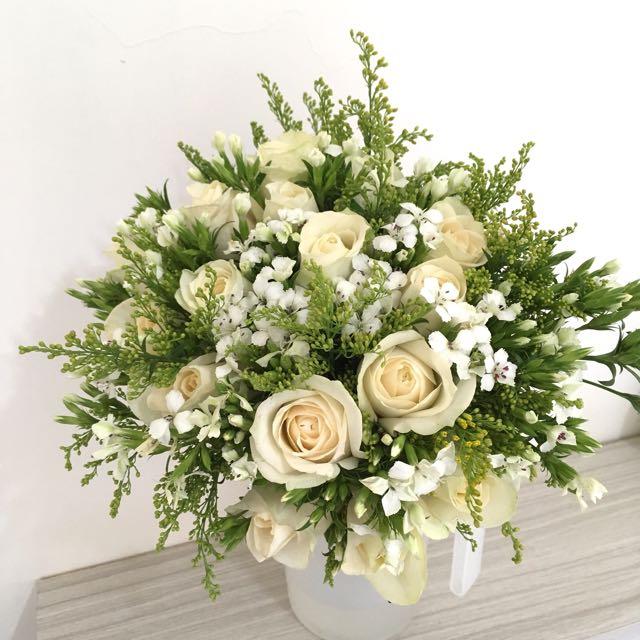 新娘捧花 美式捧花 歐式捧花 拍照花束 婚禮鮮花捧花