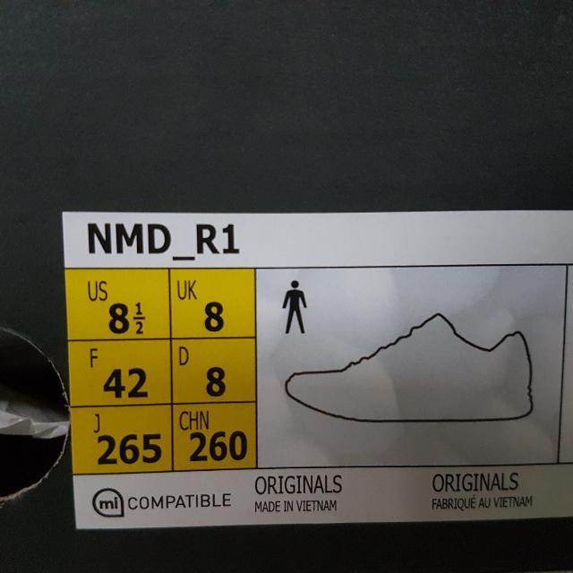 Adidas NMD R1 Footlocker Europe Exclusive Olive Cargo