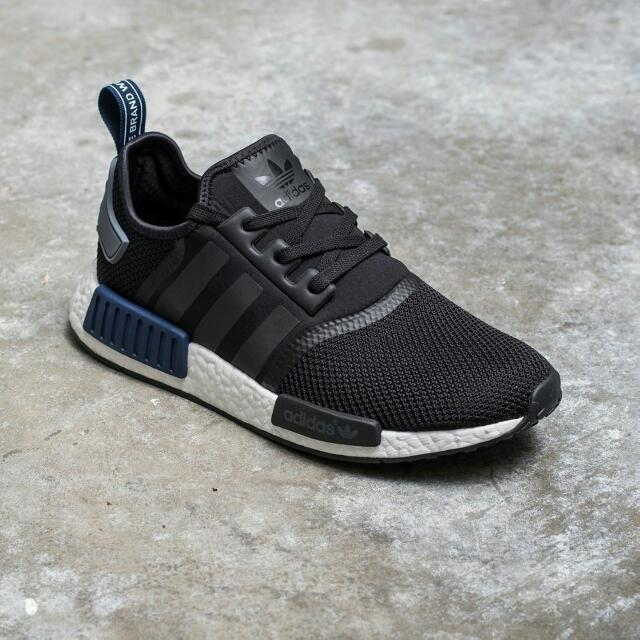 huge discount ec04a a330f Adidas NMD R1 Mesh Blue Tab, Bulletin Board, Preorders on Carousell