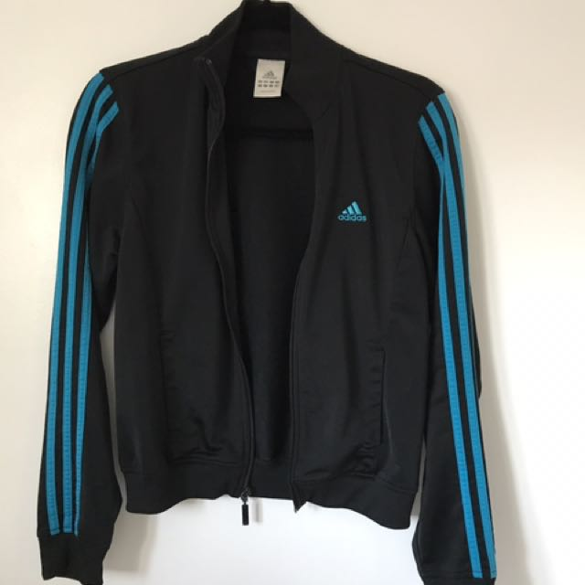 Adidas Track Zip Up Sweater