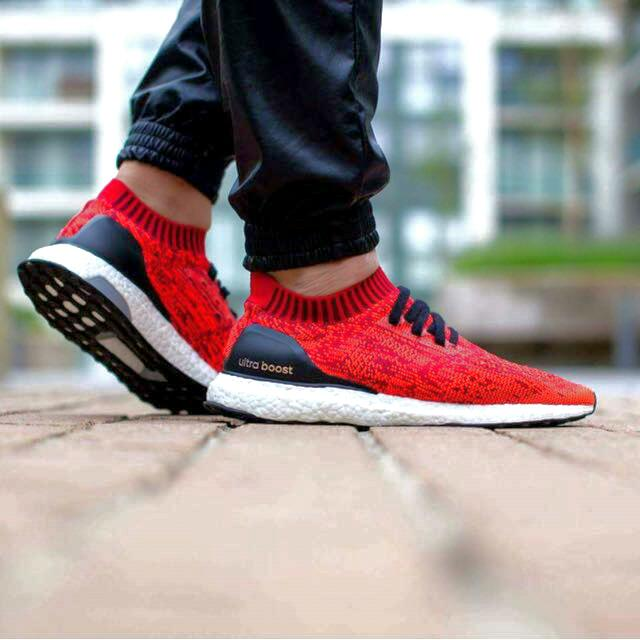 58fa22370 Adidas Ultra Boost Uncaged  Solar Red