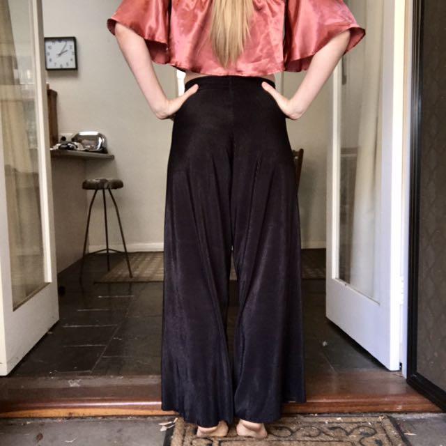 American Apparel Plissé Pants Size 8