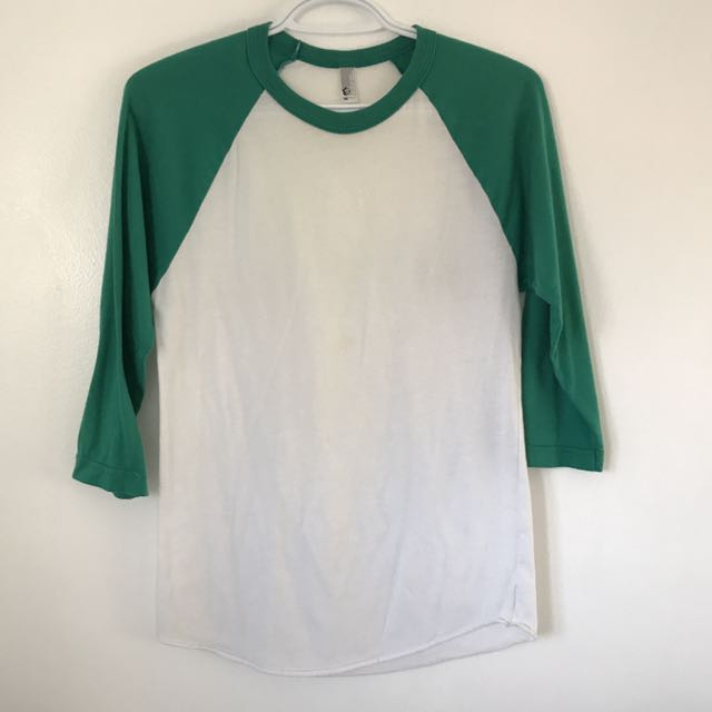 American Apparel Raglan Shirt
