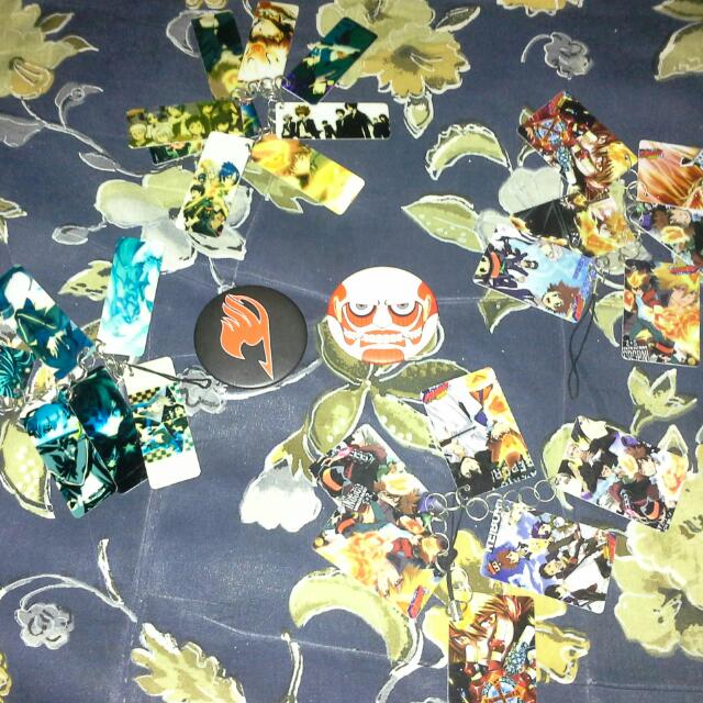 Anime Merch (Badges And Keychains) #freepostage