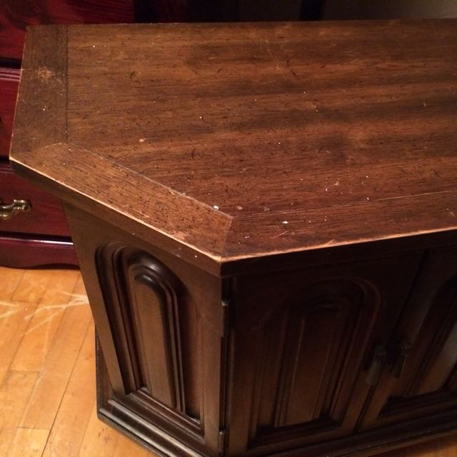 Antique Side Table From Set.