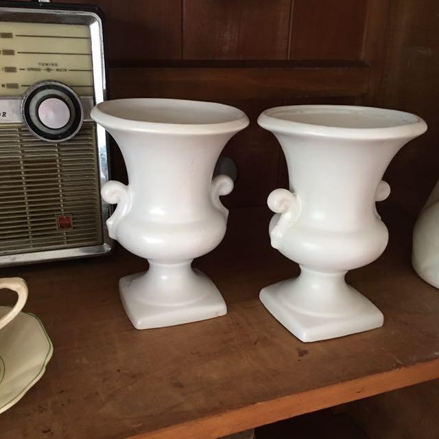 Vintage Vases Porcelain