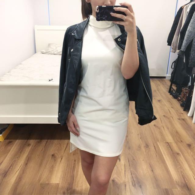 ASOSPetite High Neck Dress