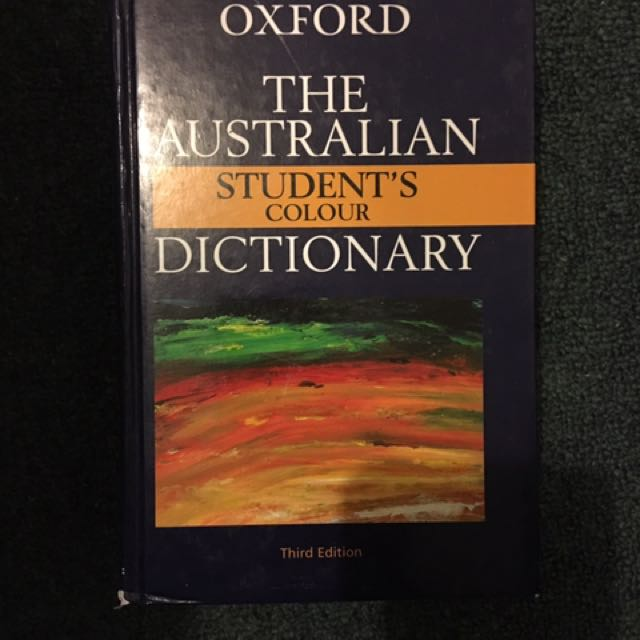Australia Oxford Dictionary Third Edition