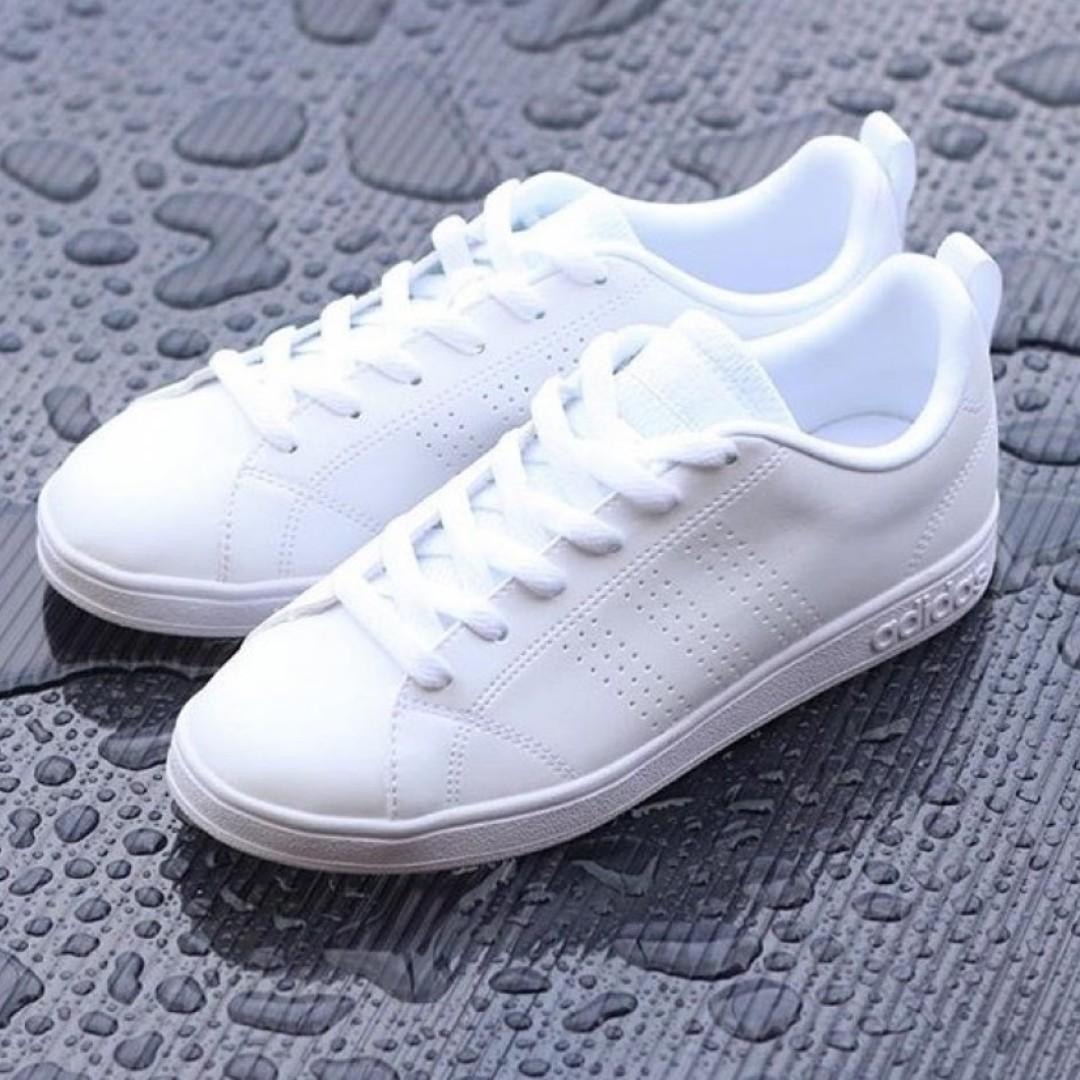 discount adidas neo clean advantage white 59c0a 75449