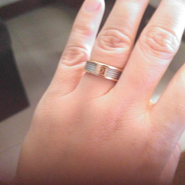 Auth Charriol Forever Ring Small, Rosegold