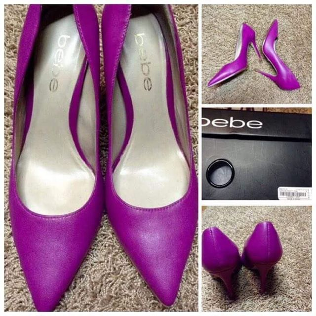 Authentic Bebe Shoes