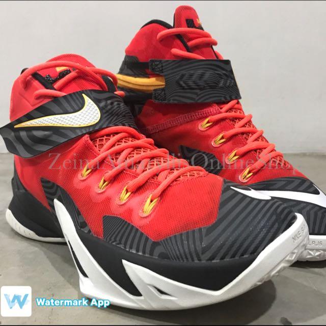 separation shoes 15e65 0e82f Authentic Nike Lebron James Zoom Soldier 8 PRM size 8 Mens Or 9 WOs ...