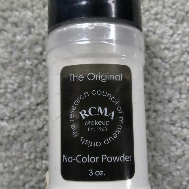 Authentic RCMA No-Color Powder