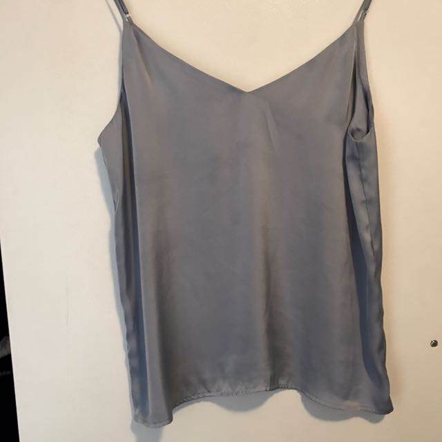 Baby Blue Silky Cami Glassons