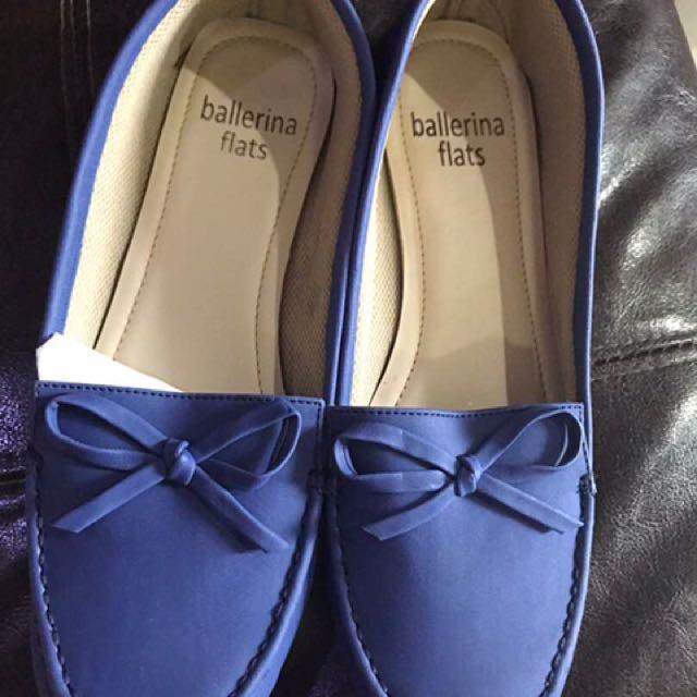 Ballerina Shoes (blue)