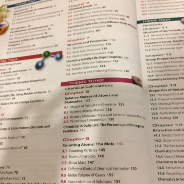 BEST O LEVEL CHEMISTRY TEXTBOOK, Books & Stationery