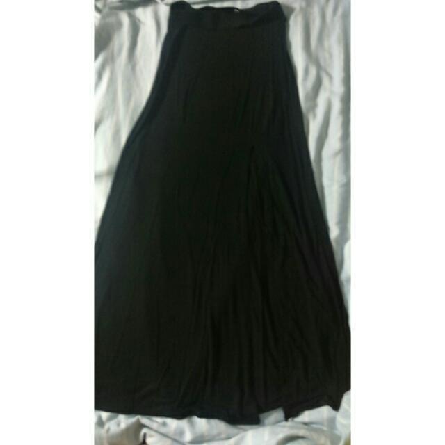Long Black Skirt -Charlotte Russe-