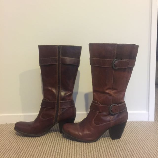 b.o.c Leather Boots
