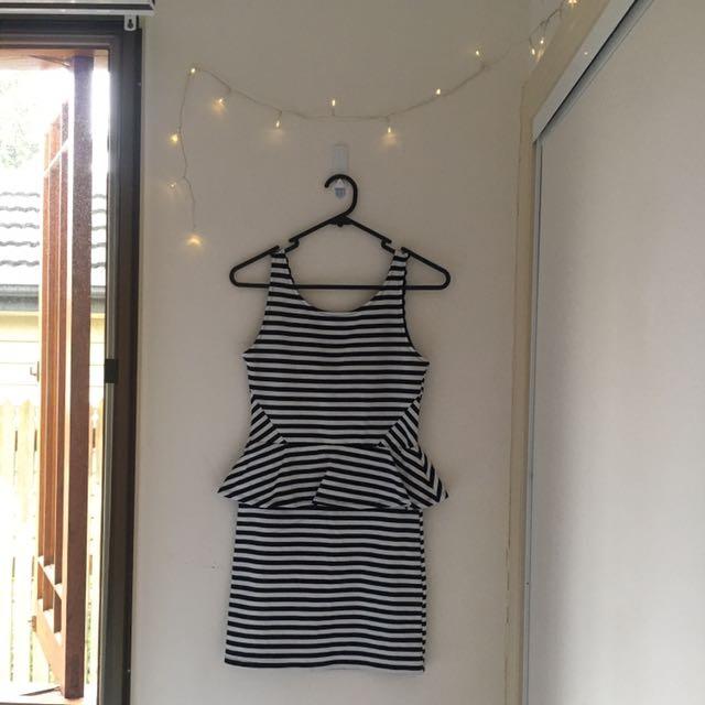 Bodycon Peplum Dress