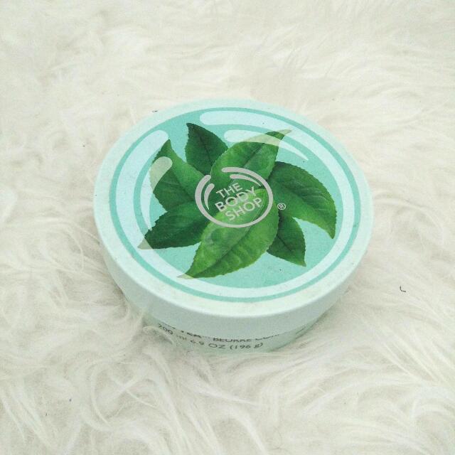 Bodyshop Fuji green tea body butter preloved