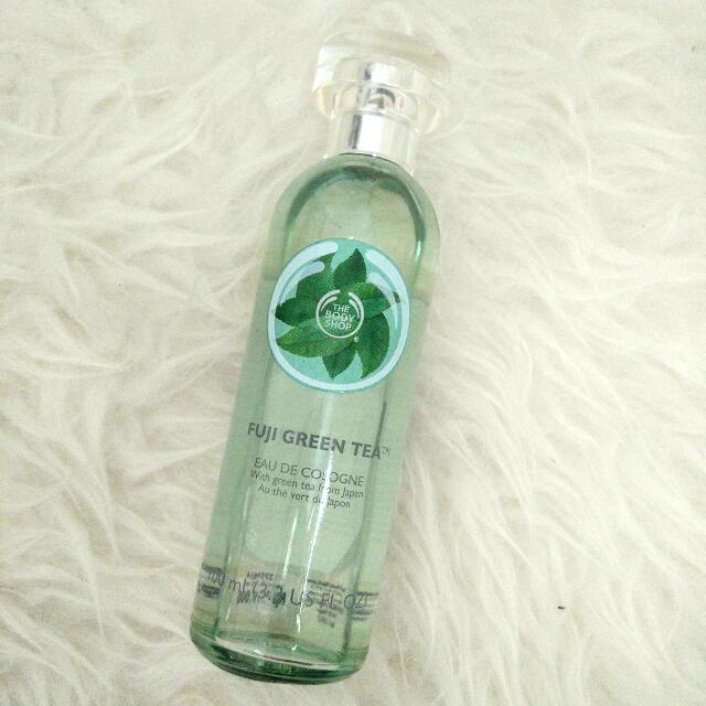 Bodyshop Fuji Green tea Eau de cologne (EDC) preloved