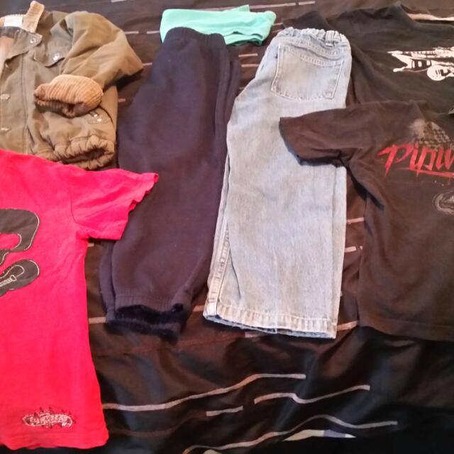Boys Clothing Mixed Items 5-7 Yrs