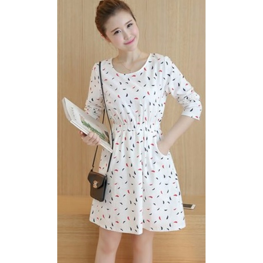 Brand New Ladies Woman Dresses Dress Korean Style Size L Suit