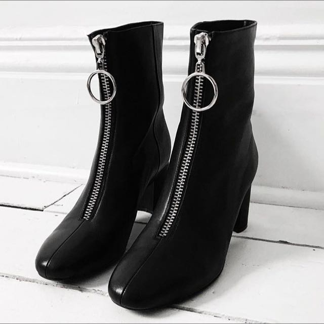 Brand New Nakedvice Leather Boots