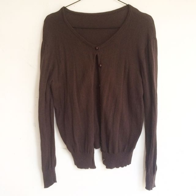 Brown Cardigan/outer