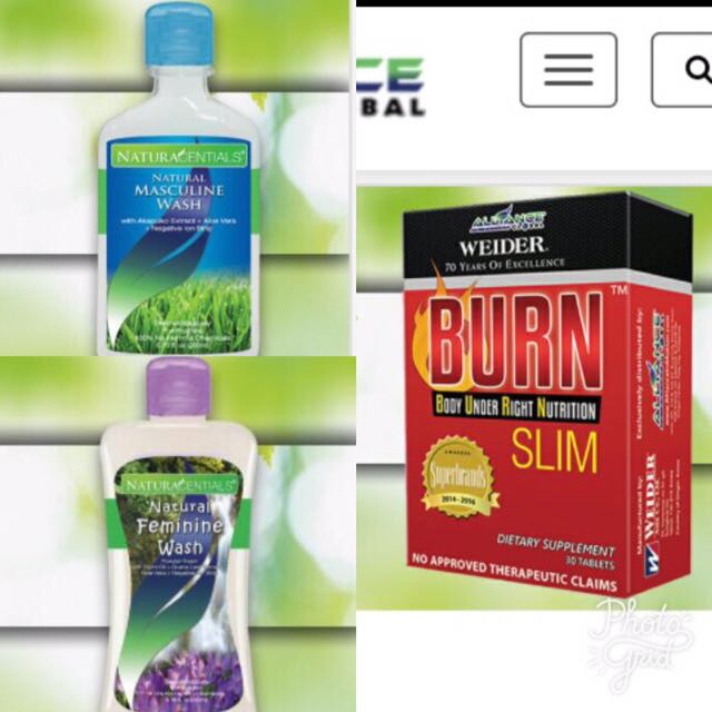 Burn Slim With FREE Musculine Or Feminine Wash Of Your Choice!!!