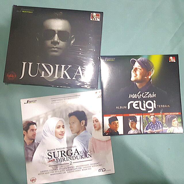 CD JUDIKA, MAHER ZAIN, OST. SURGA YANG TAK DIRINDUKAN