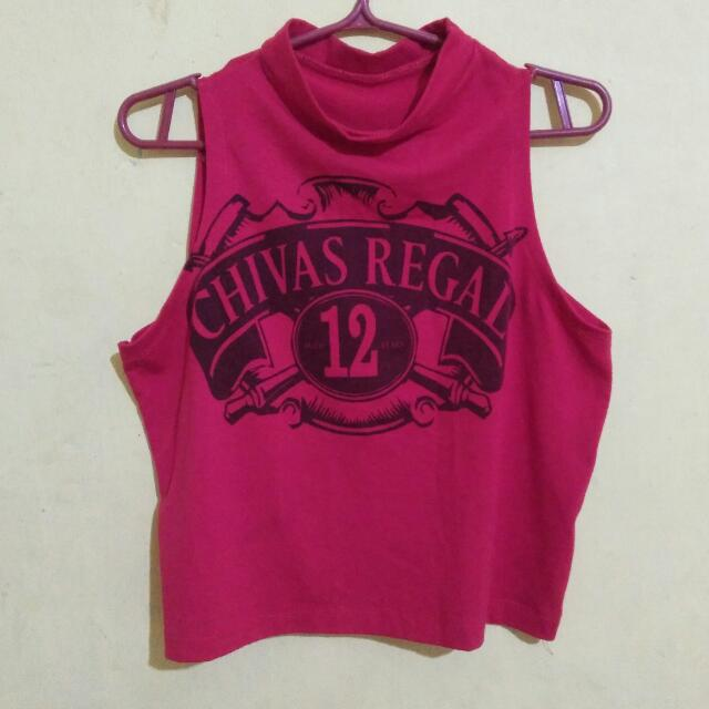 Chivas Regal Crop Top
