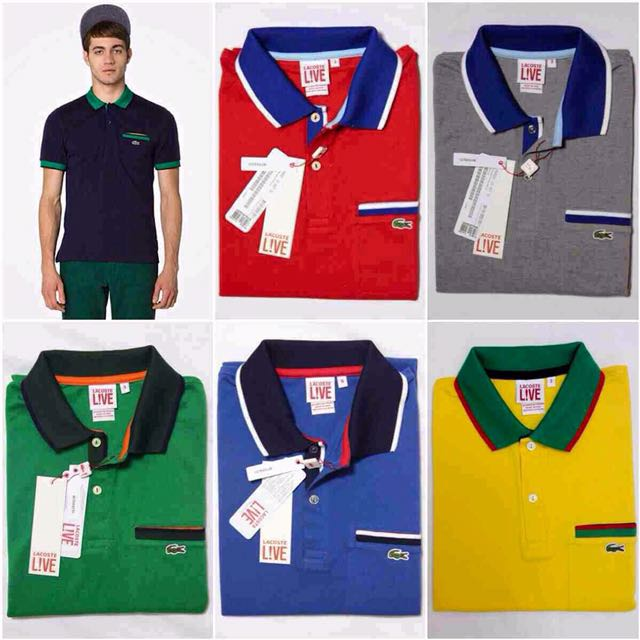 Classic Lacoste shirts for men