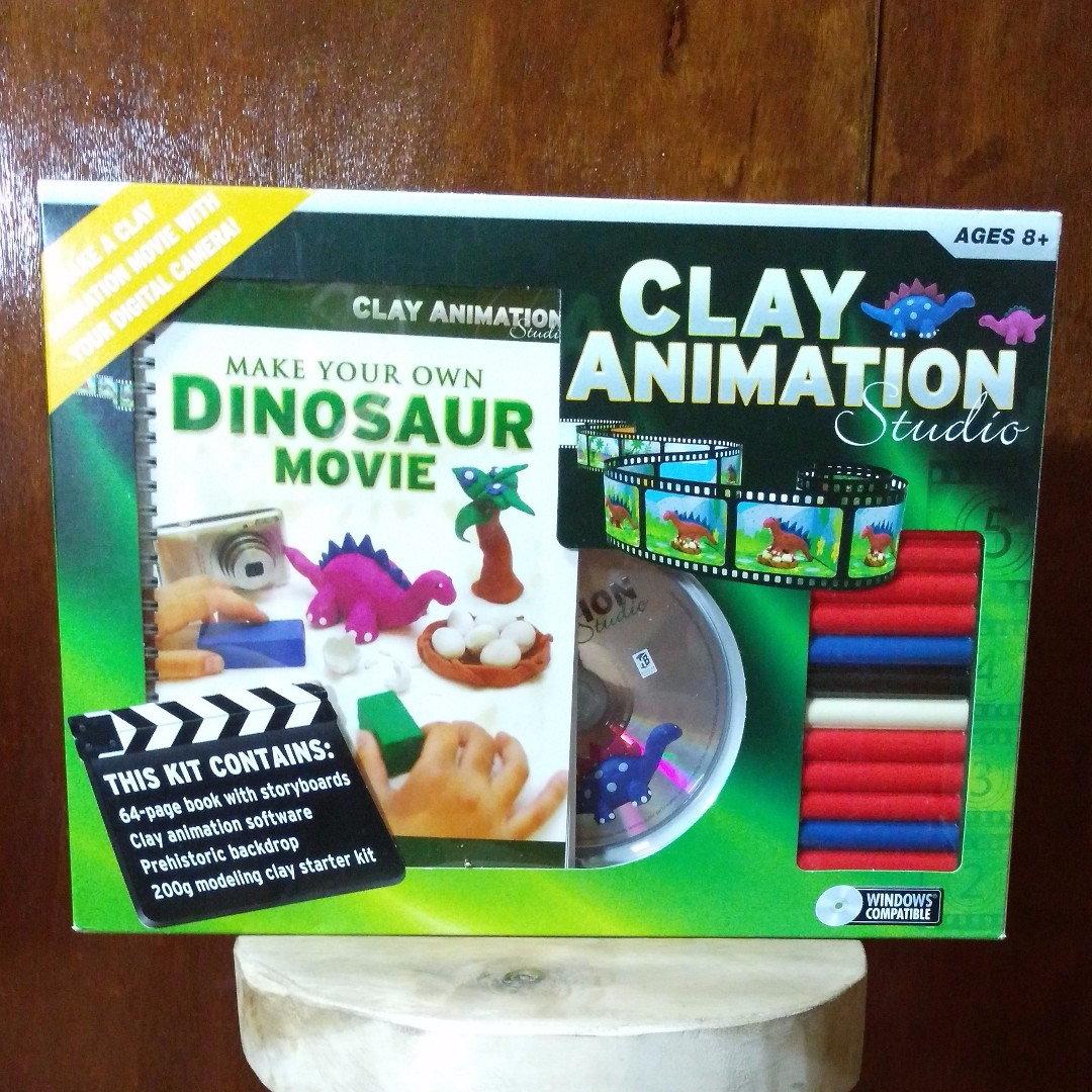 Clay Animation Studio - Make Your Own Dinosaur Movie