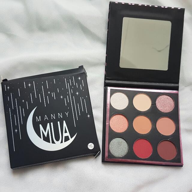 (CLEAR STOCK) MANNY MUA x makeup geek palette