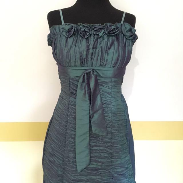Cocktail Bluegreen Dress