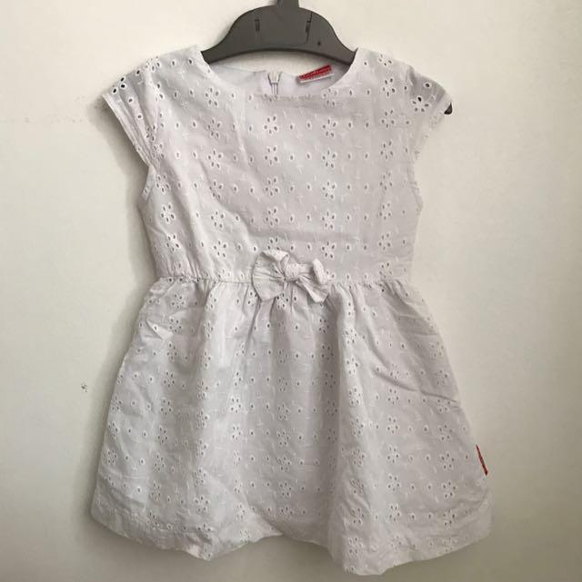 Cool Kids White Dress