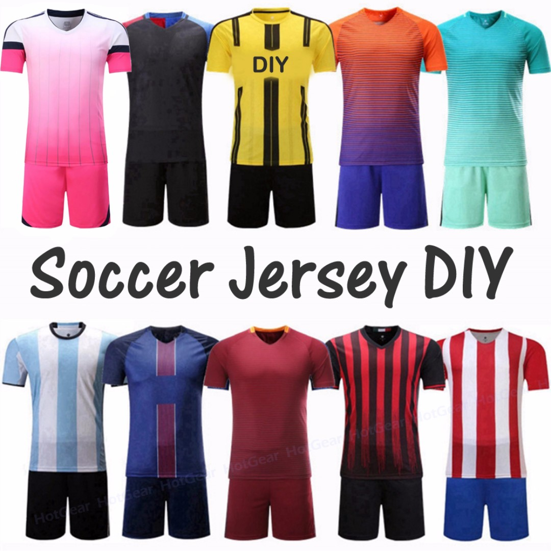558864ce5 DIY Soccer Jersey ◇ Any National Club or DIY Jersey for Your Soccer ...