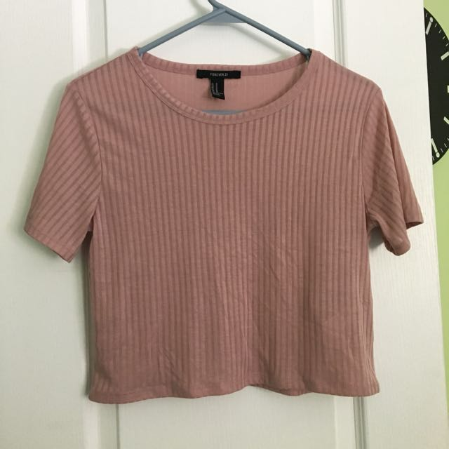 F21 Cropped Tee