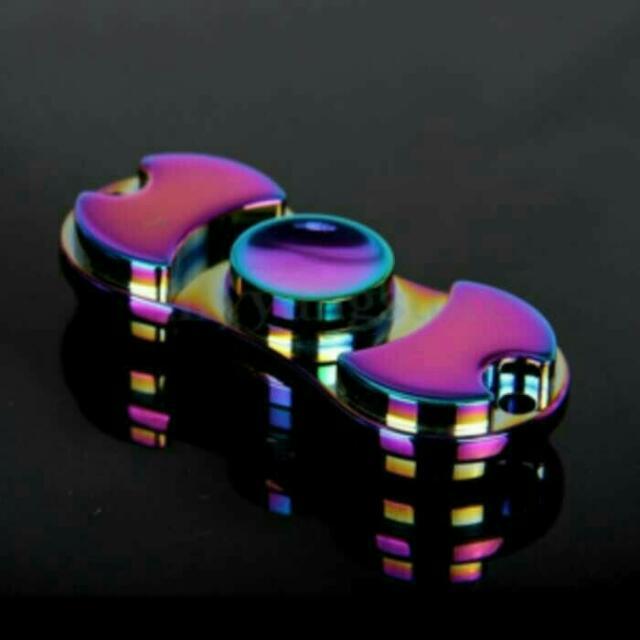 Fidget Spinner Rainbow Titanium 2sides