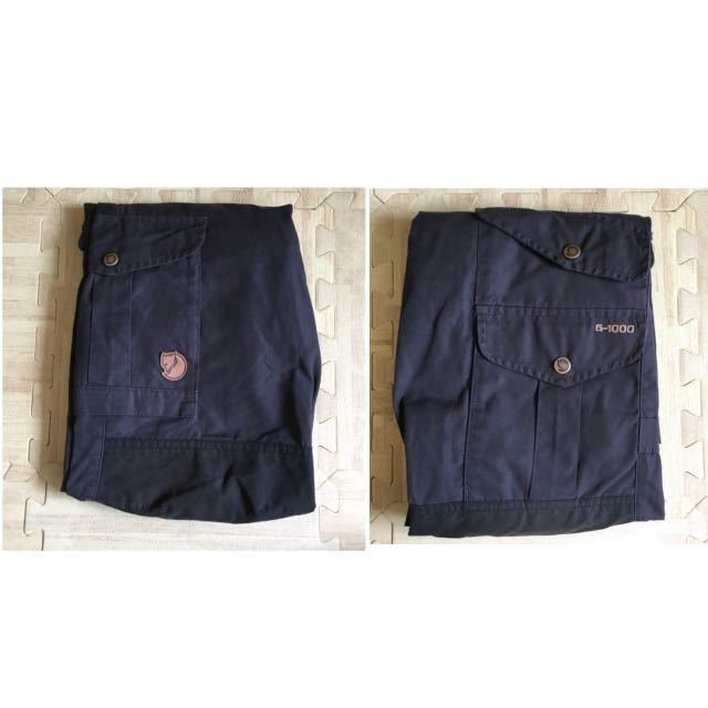 Fjallraven 小狐狸 Barents Pro G1000 登山褲 耐磨褲 狐狸褲(男款)鐵灰色