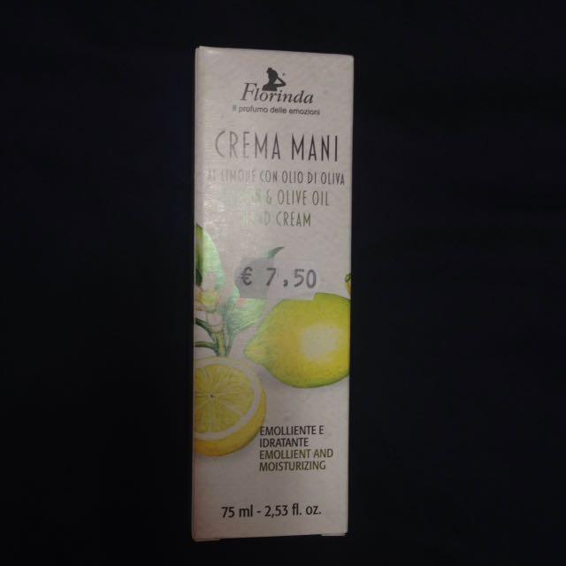 🇮🇹 Florinda 義大利天然護手霜,檸檬