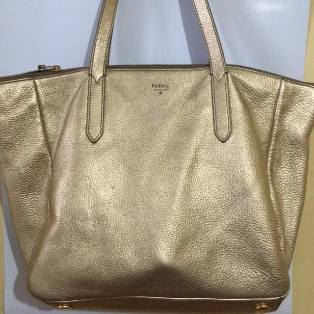 FOSSIL SYDNEY SHOPPER GOLD