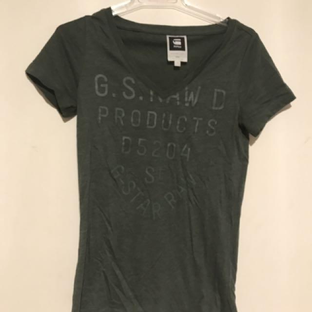 G star Khaki tshirt