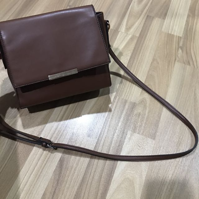 Galeries Lafayette Collection Brown Sling Bag