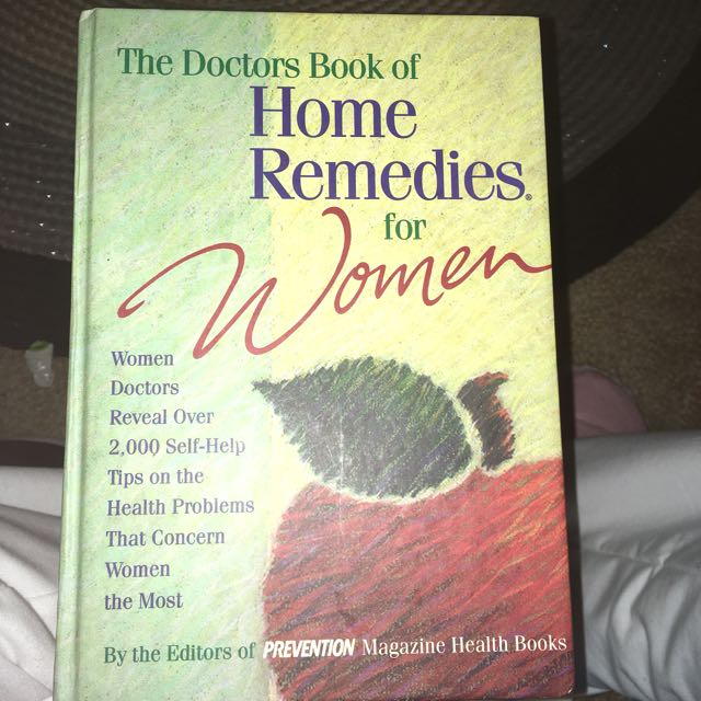 Home Remedies Book For Women