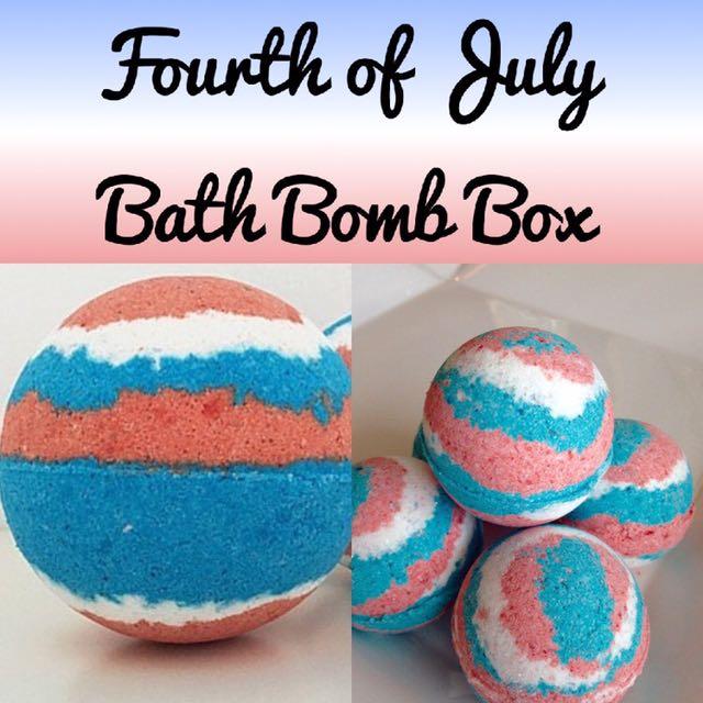 Homemade Bath Bomb Box