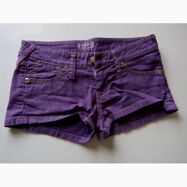 hot pant purple brand sugar gloss