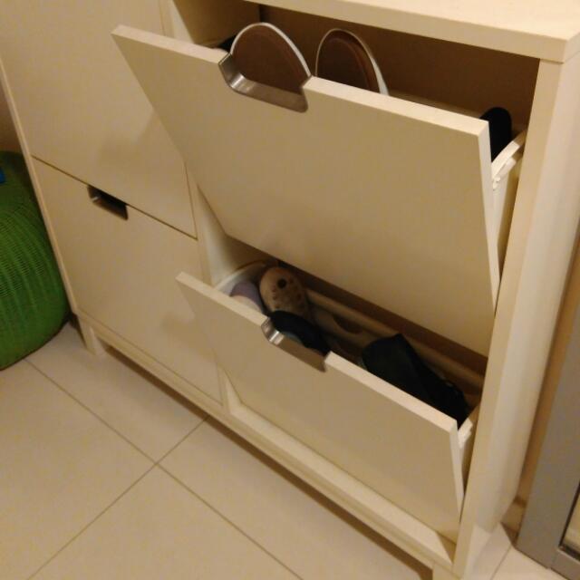 Stall shoe cabinet avie home for Ikea stall shoe rack