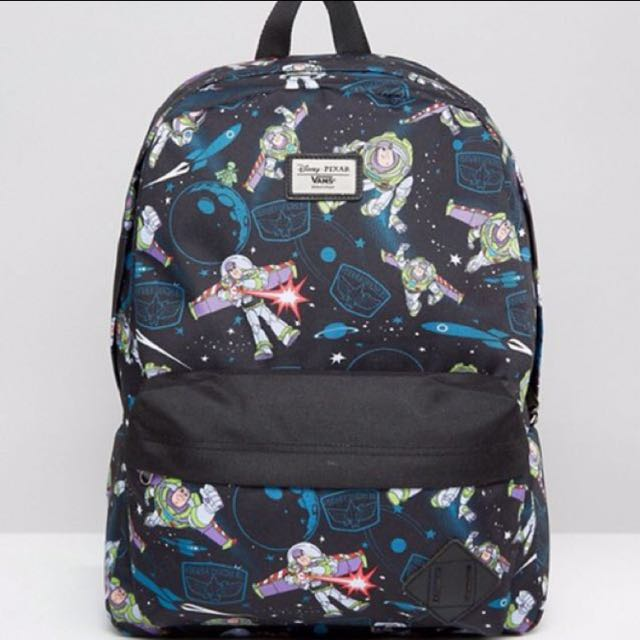 LIMITED EDITION DISNEY BUZZ BACKPACK VANS